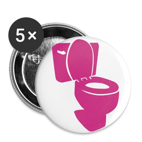 Toilet God - Buttons small 1'' (5-pack)