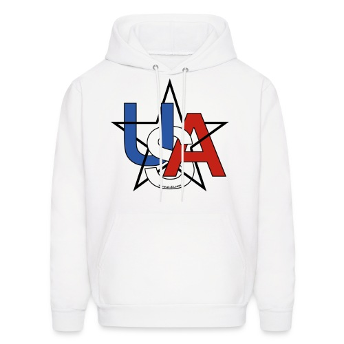USA surf racing - Men's Hoodie