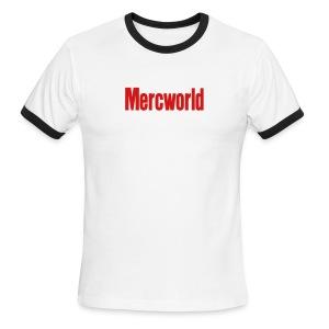 Mercworld T-Shirt - Men's Ringer T-Shirt