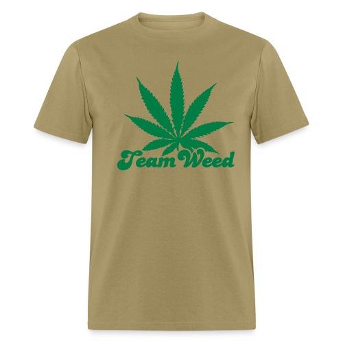 TEAM WEED BIG LEAF - Men's T-Shirt