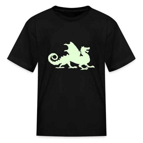 Dragon Lover- Glow in the DARK! - Kids' T-Shirt
