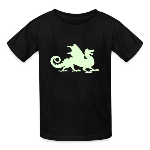 Dragon Lover- Glow in the DARK! - Kids' T-Shirt