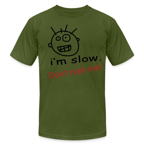 I'm Slow - Men's Fine Jersey T-Shirt