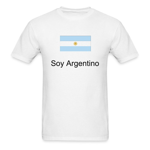 Soy Argentino... - Men's T-Shirt