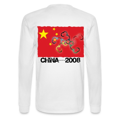 Beijing 2008 shirt - Men's Long Sleeve T-Shirt