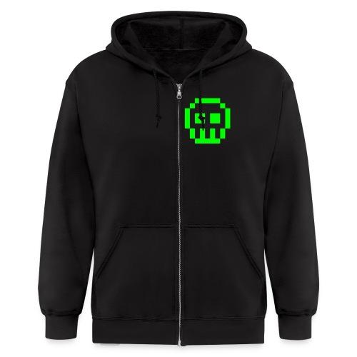 Flip the Switch hoodie - Men's Zip Hoodie