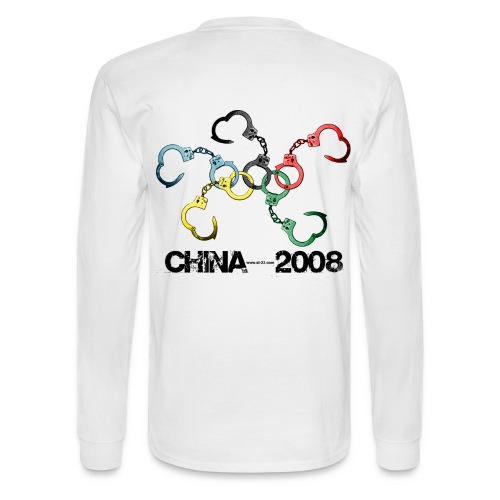 china 2008 beijing - Men's Long Sleeve T-Shirt