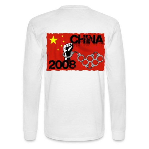 Chinese revolution - Men's Long Sleeve T-Shirt