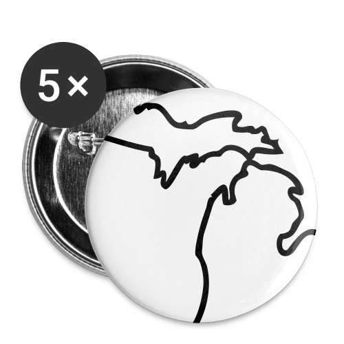 Michigan Pins - Small Buttons