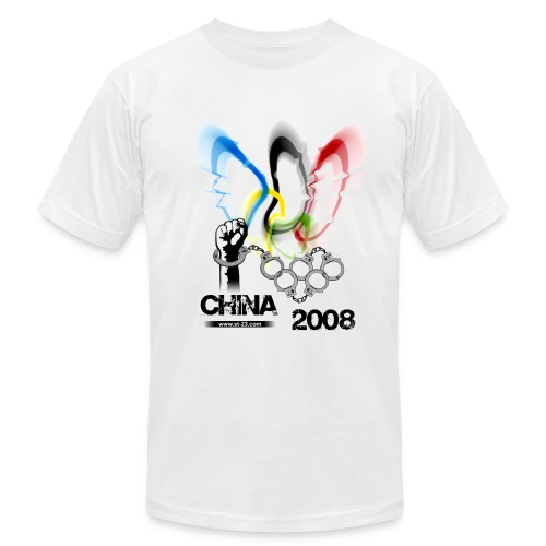 china 2008 -beijing- - Men's Fine Jersey T-Shirt