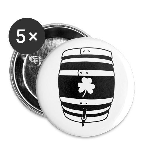 SHAMROCK KEG - Large Buttons