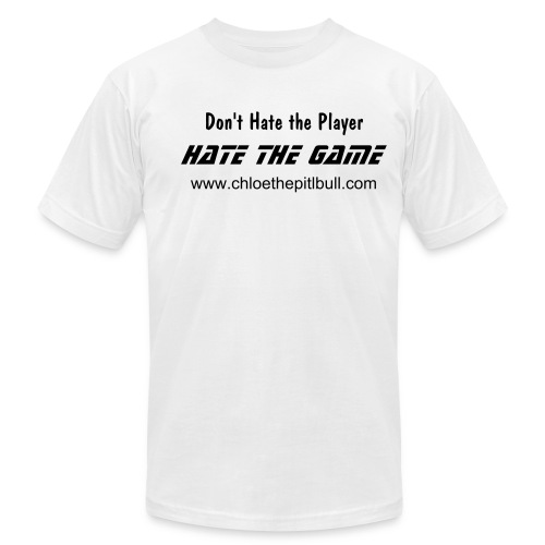 Don't Hate The Player - Men's Fine Jersey T-Shirt