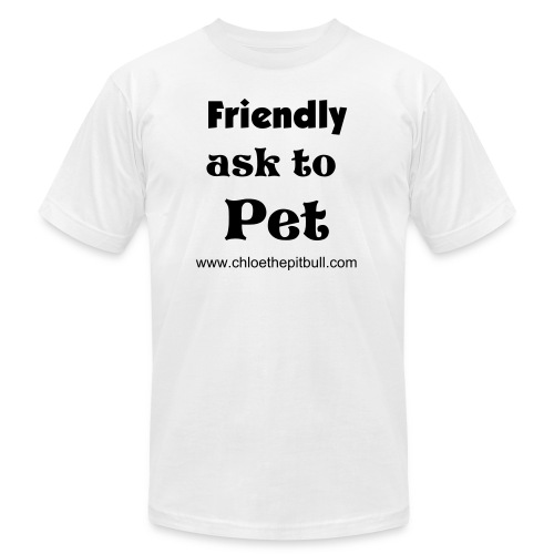 Friend, Ask To Pet - Men's Fine Jersey T-Shirt