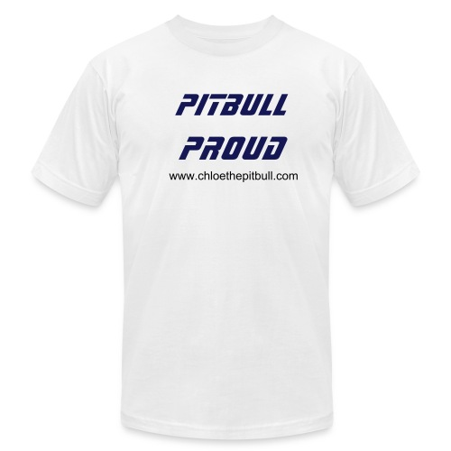 Pitbull Proud - Men's Fine Jersey T-Shirt