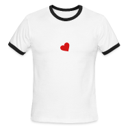 T-Shirts ~ Men's Ringer T-Shirt ~ [heartjar]