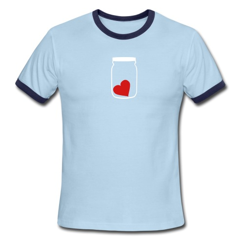 [heartjar] - Men's Ringer T-Shirt