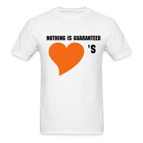 We (heart) [YOUR NAME HERE] CUSTOMIZABLE!!! - Men's T-Shirt