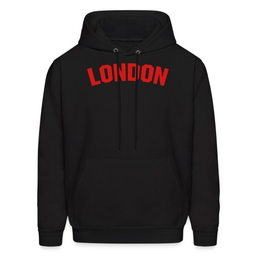 London Sweater Black/Red - Men's Hoodie