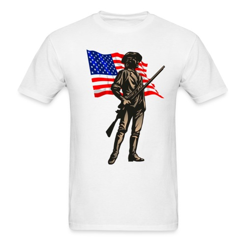 Minuteman2 - Men's T-Shirt