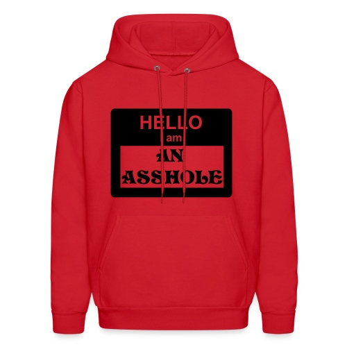 HELLO,I'M AN ASSHOLE - Men's Hoodie