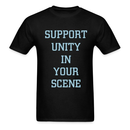 SUPPORT UNITY TEE - Men's T-Shirt