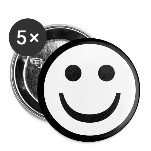 smiley pin - Large Buttons