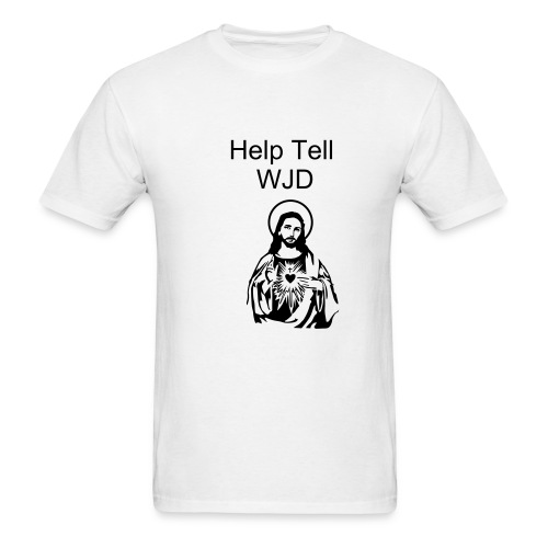 Help Tell WJD - Men's T-Shirt