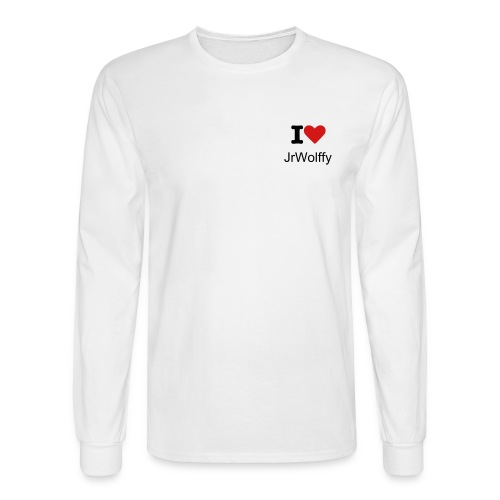 I Love JrWolffy - Men's Long Sleeve T-Shirt