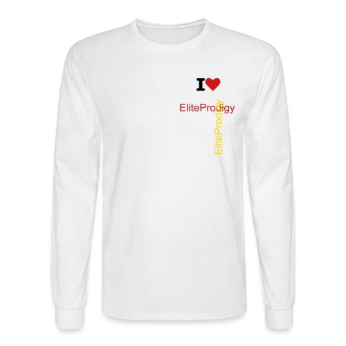 I Love EliteProdigy - Men's Long Sleeve T-Shirt