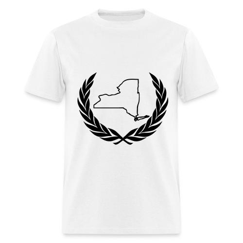 NY Crest Tee White - Men's T-Shirt