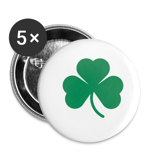 Shamrock buttons - Large Buttons