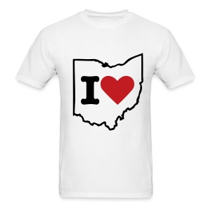 I heart Ohio - Men's T-Shirt