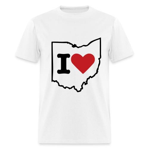 I heart Ohio - Men's T-Shirt