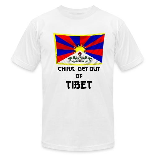 tibet free - Men's Fine Jersey T-Shirt