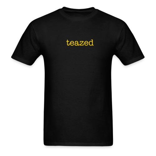 TEAZED BLACK - Men's T-Shirt
