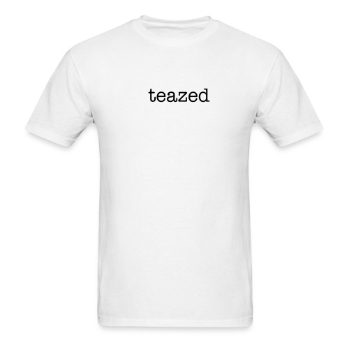 TEAZED WHITE - Men's T-Shirt