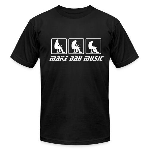 Make Dah Music T - Men's Fine Jersey T-Shirt
