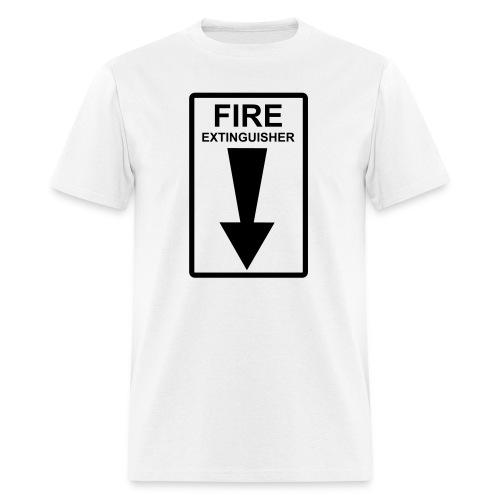 Down Fire - Men's T-Shirt
