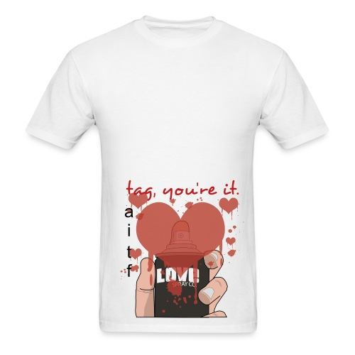 tag youre it - Men's T-Shirt