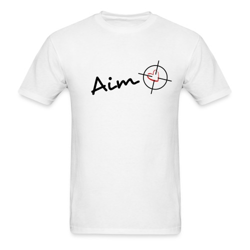 Aim for the heart - Men's T-Shirt