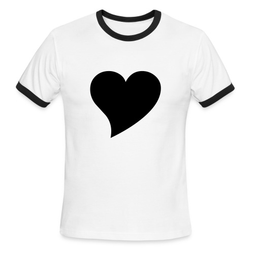i heart boston fella's - Men's Ringer T-Shirt