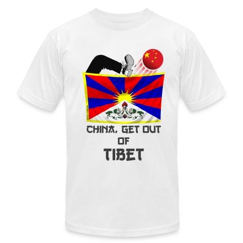 free Tibet shirt - Men's Fine Jersey T-Shirt