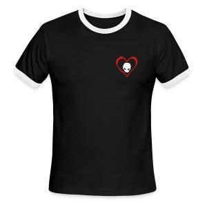 Love Skull  - Men's Ringer T-Shirt
