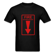 T-Shirts ~ Men's T-Shirt ~ Fire Extingusher