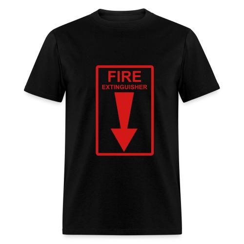 Fire Extingusher - Men's T-Shirt