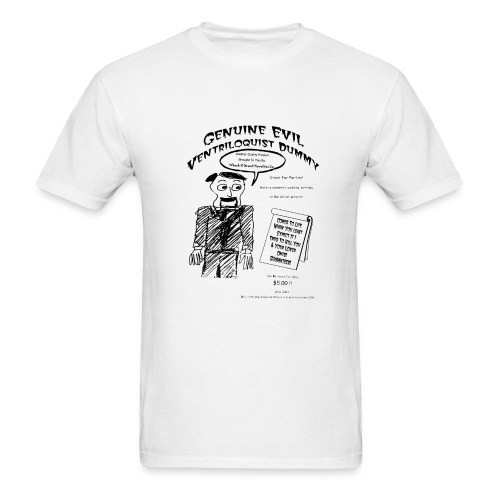 Genuine Evil Ventriloquist Dummy - Men's T-Shirt