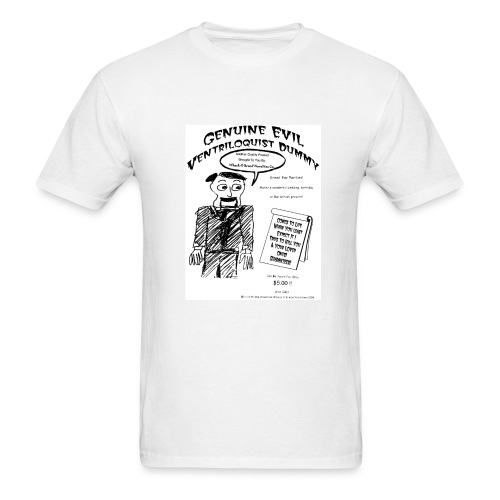 Genuine Evil Ventriloquist Dummy - Men's T-Shirt