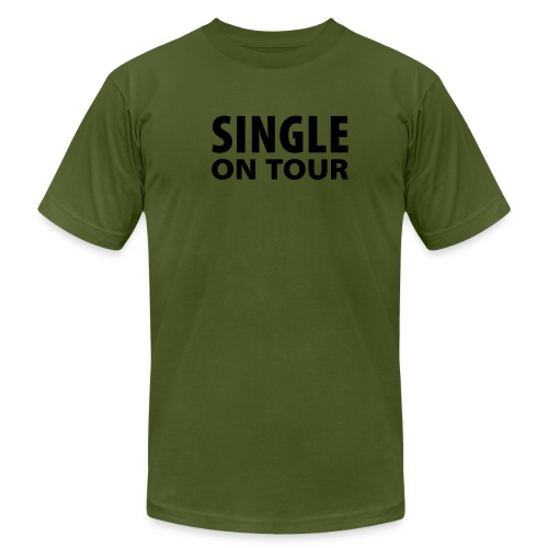Single on Tour - Men's Fine Jersey T-Shirt
