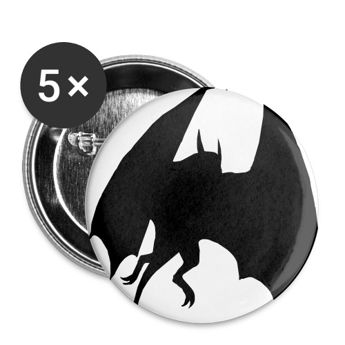 Dragon Pin - Large Buttons