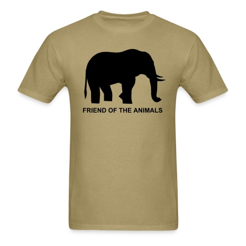 Friend of the Animals Shirt - Men's T-Shirt
